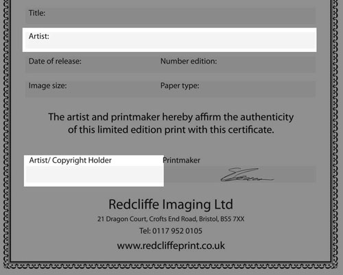 Customise Your Certificate