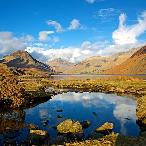 Great Gable and Scafell Pike Wast Water (EDC-217)