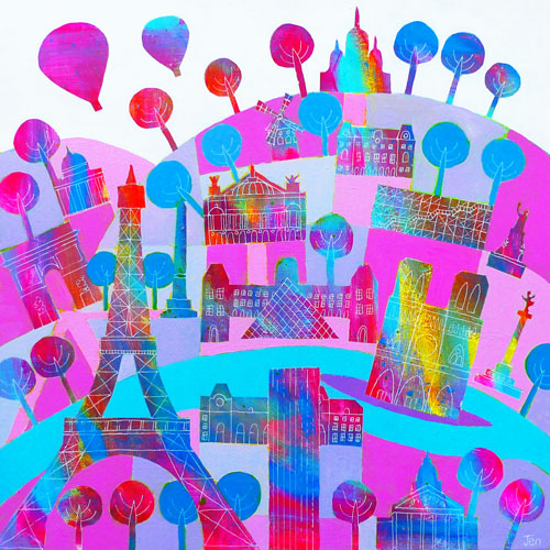 Paris in the Pink (JU-046)